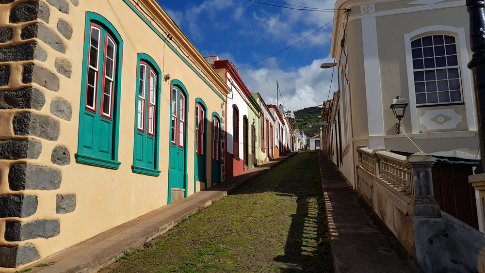 Gasse in Santo Domingo