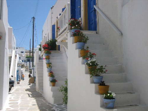 Gasse in Naousa